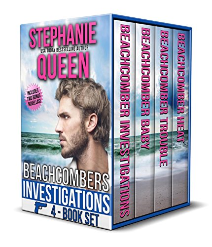 Beachcomber Investigations 4 Book Set by Stephanie Queen