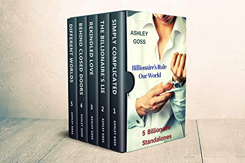 Billionaire's Rule Our World Boxed Set by Ashley Goss