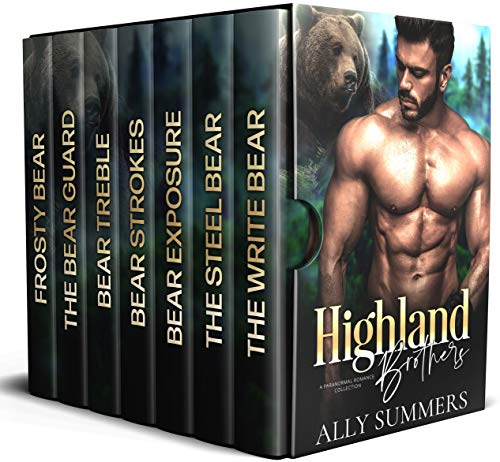 Highland Brothers Boxed Set by Ally Summers